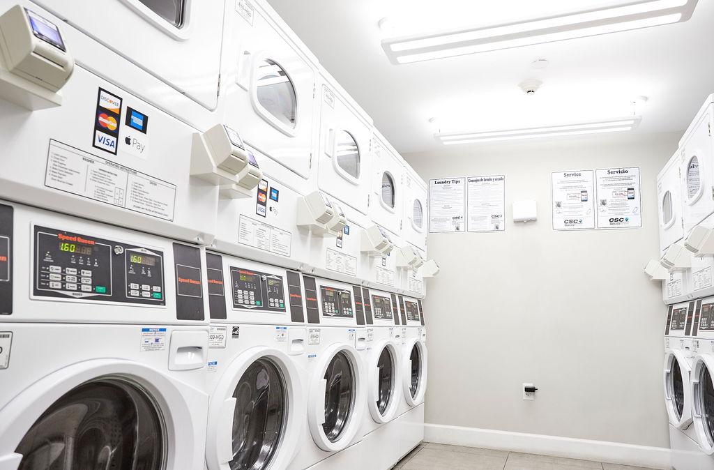 Aliro on site laundry